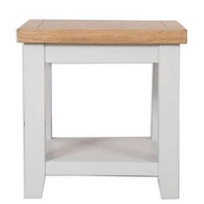 Grey and rustic oak lamp table house goods 4u grey and rustic oak lamp table aloadofball Gallery